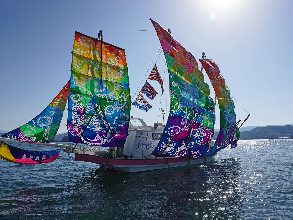 葦北うたせ船祭り。_b0044115_6565290.jpg