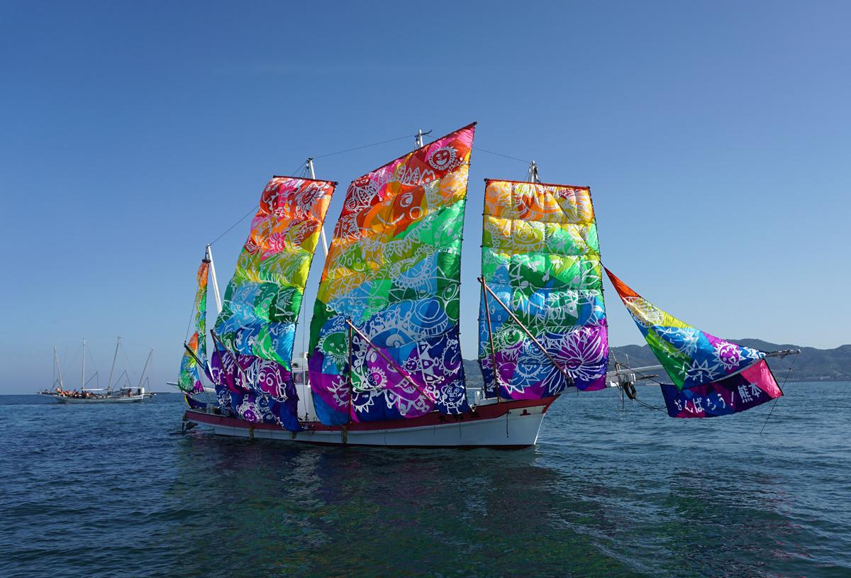 葦北うたせ船祭り。_b0044115_65717100.jpg