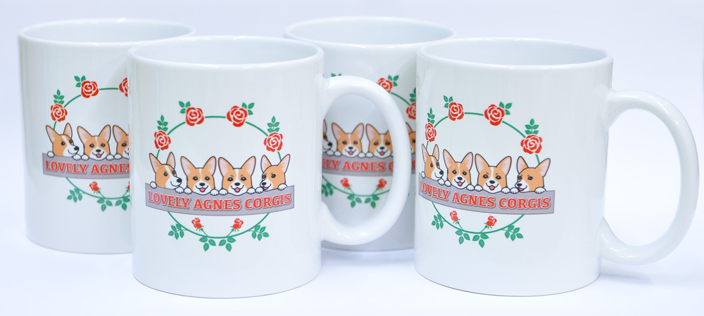 LOVELY AGNES CORGIS様 記念マグカップ_d0102523_13123226.jpg