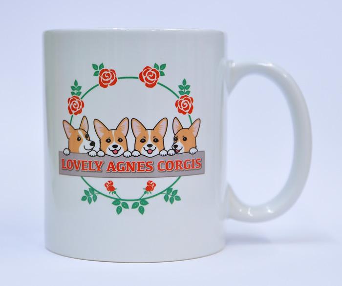 LOVELY AGNES CORGIS様 記念マグカップ_d0102523_1394859.jpg
