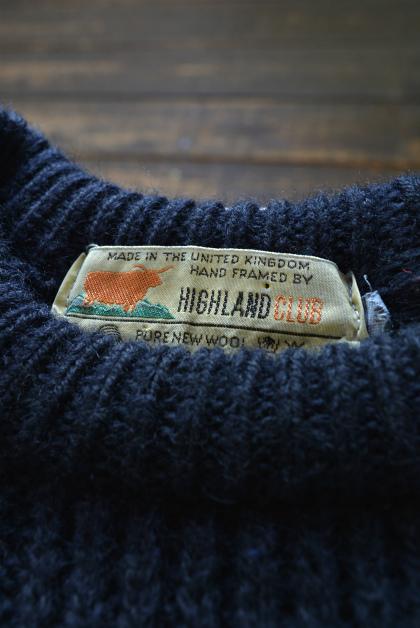 Irish Aran sweater over-dyed indigo color_f0226051_13383514.jpg