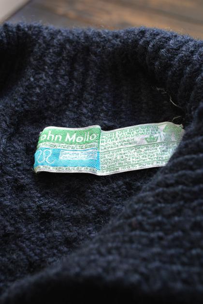 Irish Aran sweater over-dyed indigo color_f0226051_13411838.jpg