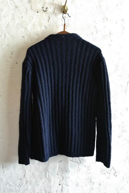 Irish Aran sweater over-dyed indigo color_f0226051_13434100.jpg