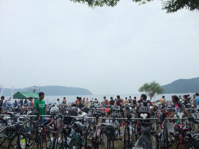 トライアスロン琵琶湖大会にショップサポートで行ってきました_d0174462_443110.jpg