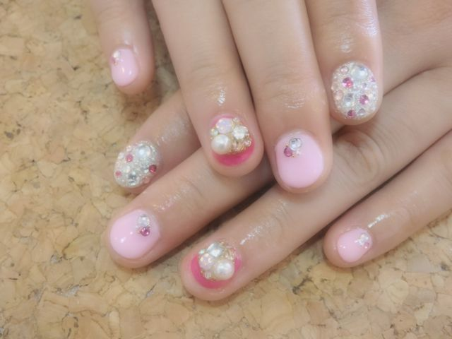 Pink Nail_a0239065_15191881.jpg