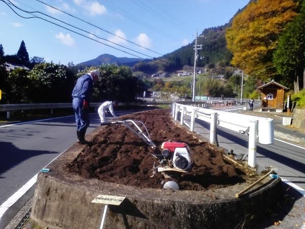 2016/11/12  土壌整備_a0277170_09313742.jpg