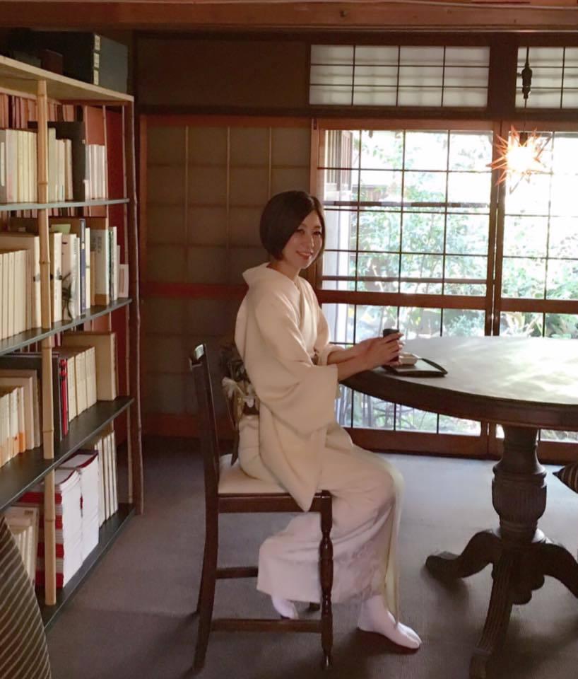 京都滞在記「書の朝稽古」_a0138976_13563012.jpg