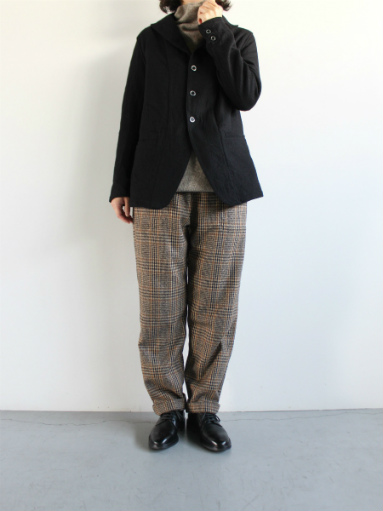 GRANDMA MAMA DAUGHTER WOOL RANCH PANTS / GLEN CHECK_b0139281_1711678.jpg