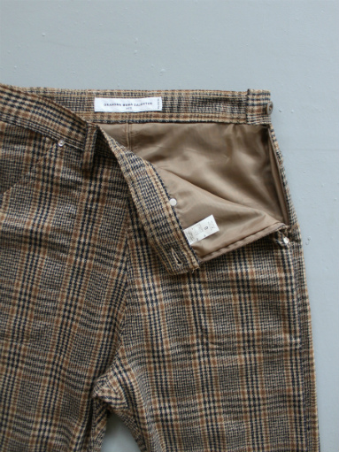 GRANDMA MAMA DAUGHTER WOOL RANCH PANTS / GLEN CHECK_b0139281_1732069.jpg