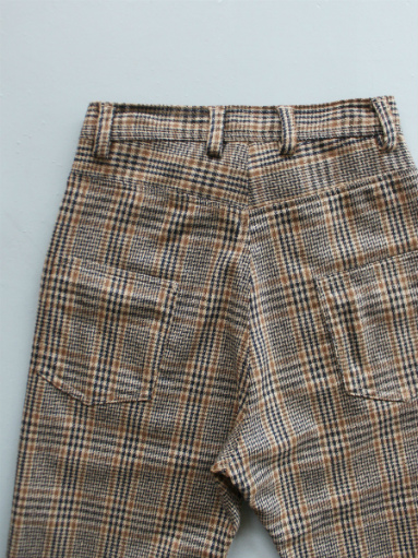 GRANDMA MAMA DAUGHTER WOOL RANCH PANTS / GLEN CHECK_b0139281_1732617.jpg