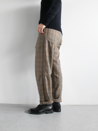 GRANDMA MAMA DAUGHTER WOOL RANCH PANTS / GLEN CHECK_b0139281_1733210.jpg