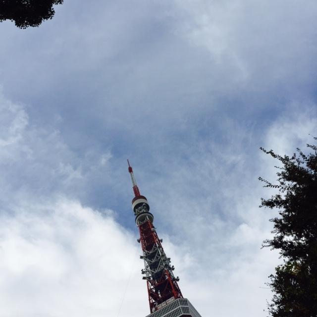 東京タワー、お散歩_c0352090_17034353.jpg