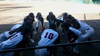 H28.11.16    女子野球_b0184721_15325829.jpg