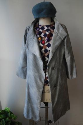 着物リメイク・お着物からレトロコート_d0127925_01125371.jpg
