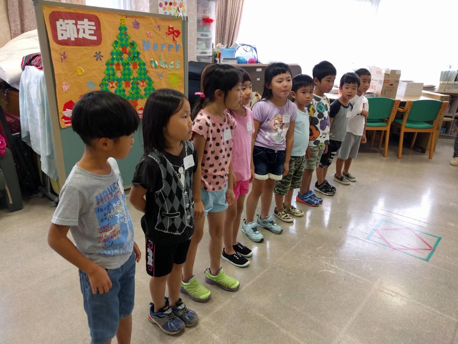 5歳児くじら組  デイサービス訪問へ_c0151262_22245388.jpg