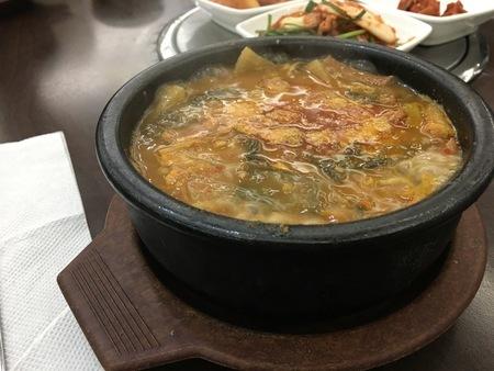 ソウルから大邱へ。その10 さよなら大邱。夕飯は大田(テジョン)の冷麺屋さんでウゴジタンを食す。_a0223786_17323706.jpg