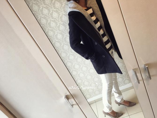 最近買ったお気に入りのコート。それから…息子の料理again!_a0341288_20310053.jpg