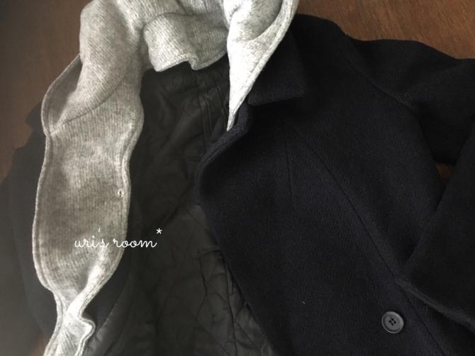 最近買ったお気に入りのコート。それから…息子の料理again!_a0341288_20310143.jpg