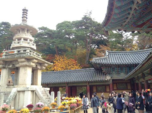 ポジャギ作家 李京玉と巡る韓国 (尚州・慶州・安東)2日目①_c0185092_03538.jpg