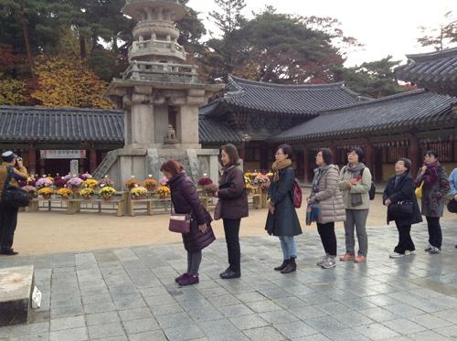 ポジャギ作家 李京玉と巡る韓国 (尚州・慶州・安東)2日目①_c0185092_041570.jpg