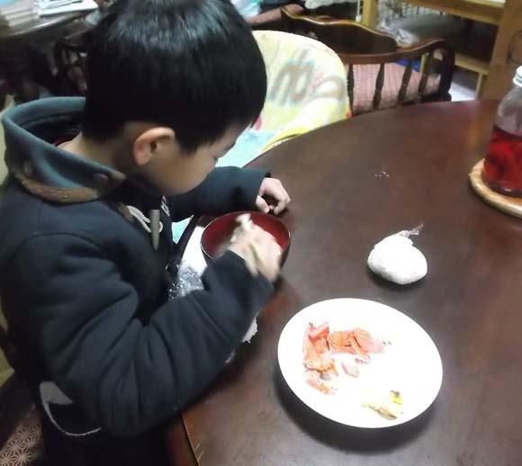 じいちゃんの味噌汁が美味しい_f0019498_9521934.jpg