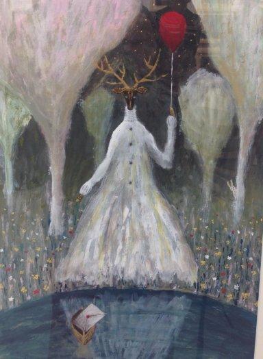 鹿の少女*白いドレス_c0203401_13190991.jpg