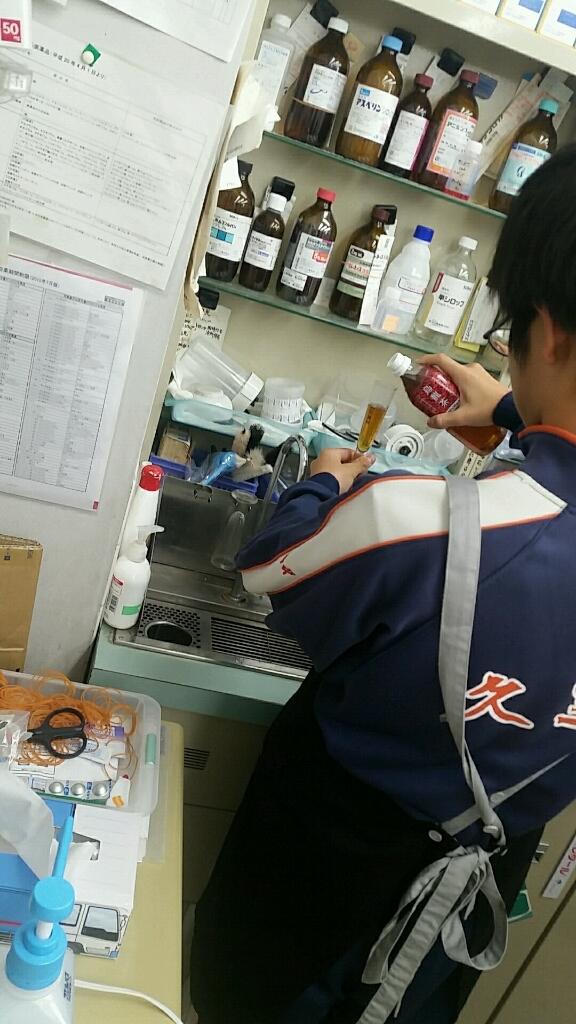 中学校職場体験 薬局 受入_d0092901_22254106.jpg