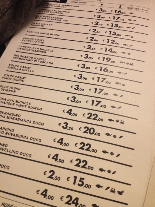 予約必至!フィレンツェの魚介レストラン_a0136671_052304.jpg