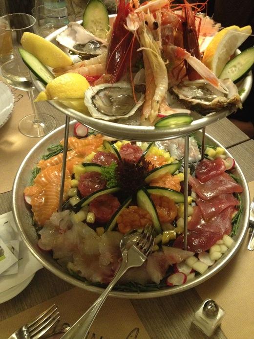 予約必至!フィレンツェの魚介レストラン_a0136671_058974.jpg