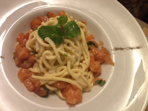予約必至!フィレンツェの魚介レストラン_a0136671_1253763.jpg