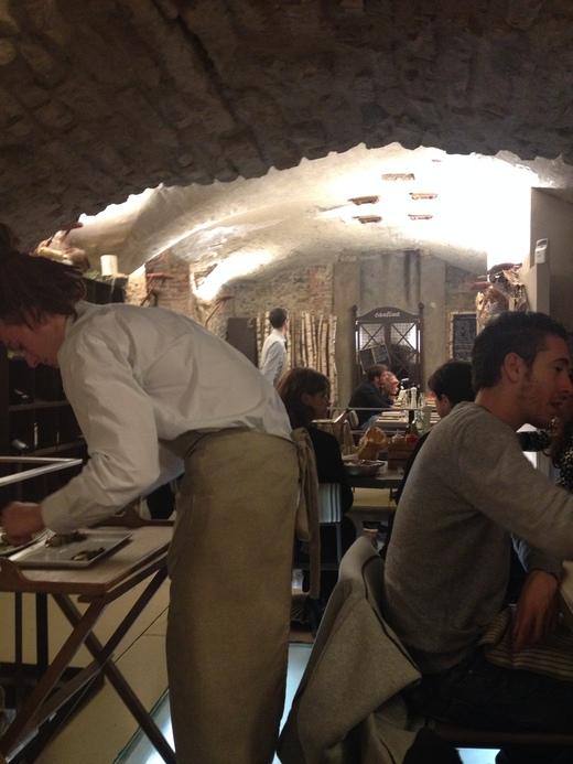 予約必至!フィレンツェの魚介レストラン_a0136671_1273986.jpg