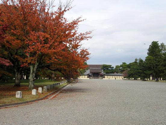 紅葉探訪10 京都御苑と上賀茂神社_e0048413_20315046.jpg