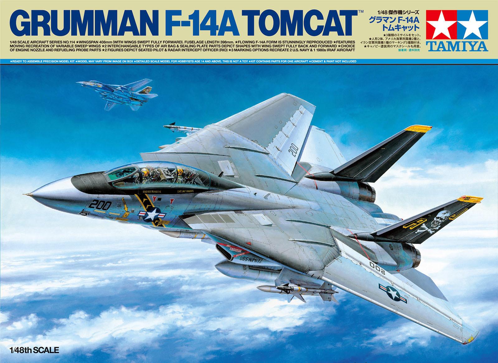 TAMIYA 1/48 Scale Grumman F-14A Tomcat_b0029315_09263019.jpg
