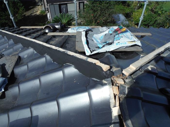 入居前リフォーム ~ 屋根と外壁。_d0165368_1415509.jpg