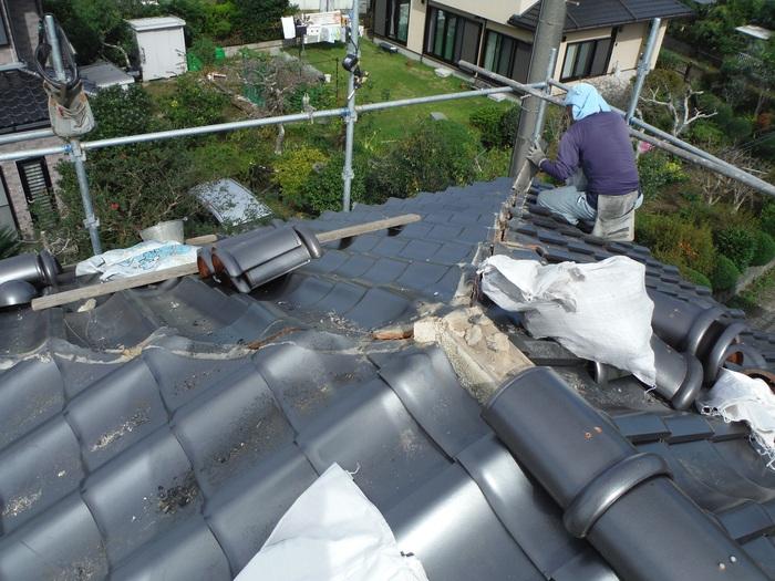 入居前リフォーム ~ 屋根と外壁。_d0165368_1415617.jpg