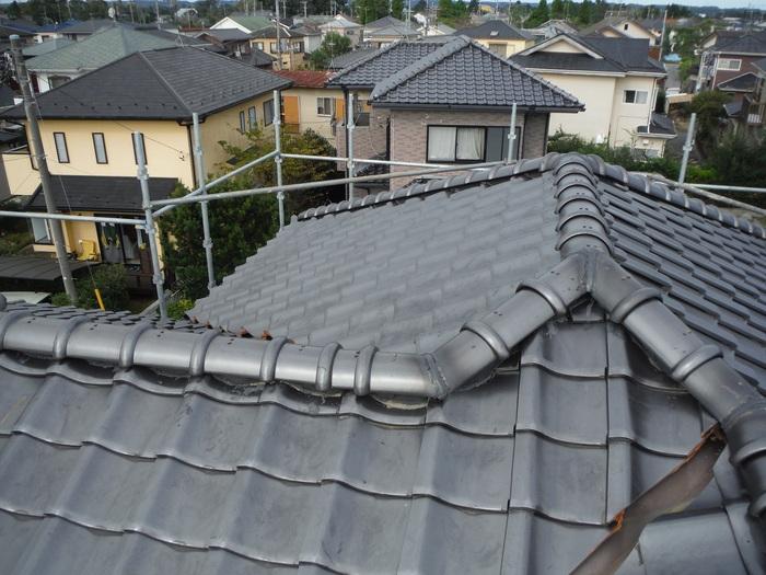 入居前リフォーム ~ 屋根と外壁。_d0165368_14163373.jpg