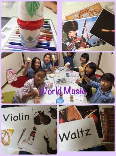 World Music🎻 English lesson_a0285570_00461217.jpg