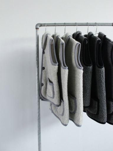 NOMADICS VEST / WOOL FLEECE _b0139281_17124599.jpg