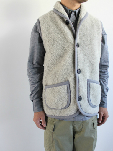 NOMADICS VEST / WOOL FLEECE _b0139281_1712528.jpg