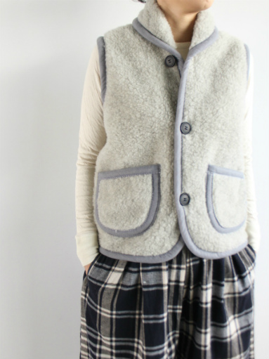 NOMADICS VEST / WOOL FLEECE _b0139281_17125990.jpg