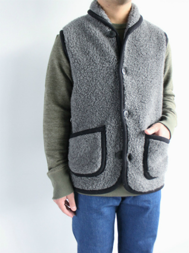 NOMADICS VEST / WOOL FLEECE _b0139281_17134739.jpg