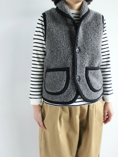 NOMADICS VEST / WOOL FLEECE _b0139281_17135492.jpg