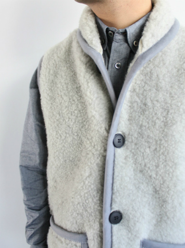 NOMADICS VEST / WOOL FLEECE _b0139281_17153638.jpg