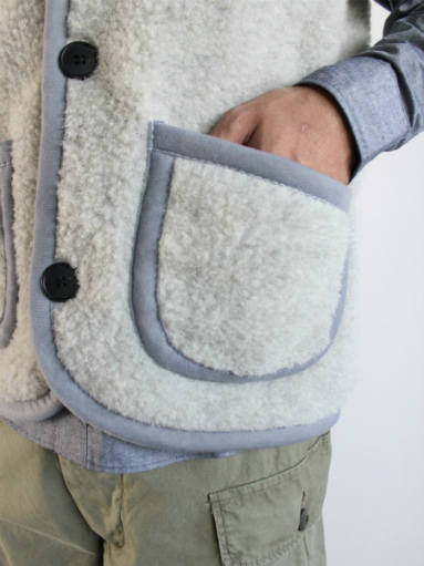 NOMADICS VEST / WOOL FLEECE _b0139281_17154069.jpg