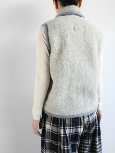 NOMADICS VEST / WOOL FLEECE _b0139281_17154572.jpg