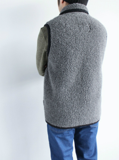 NOMADICS VEST / WOOL FLEECE _b0139281_171550100.jpg