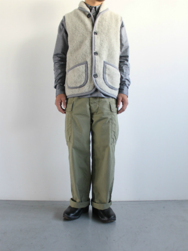 NOMADICS VEST / WOOL FLEECE _b0139281_17164218.jpg