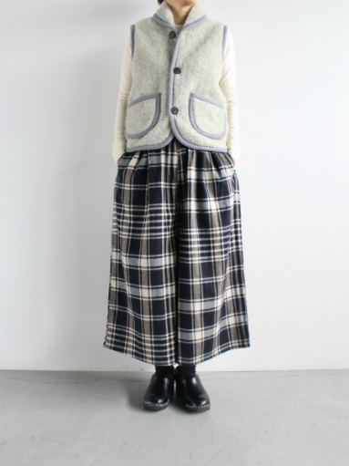 NOMADICS VEST / WOOL FLEECE _b0139281_17164876.jpg