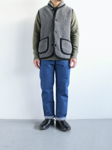 NOMADICS VEST / WOOL FLEECE _b0139281_1716537.jpg