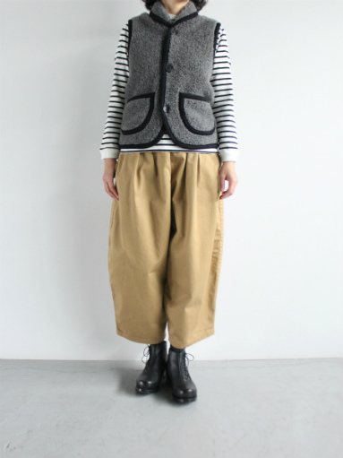 NOMADICS VEST / WOOL FLEECE _b0139281_1717025.jpg